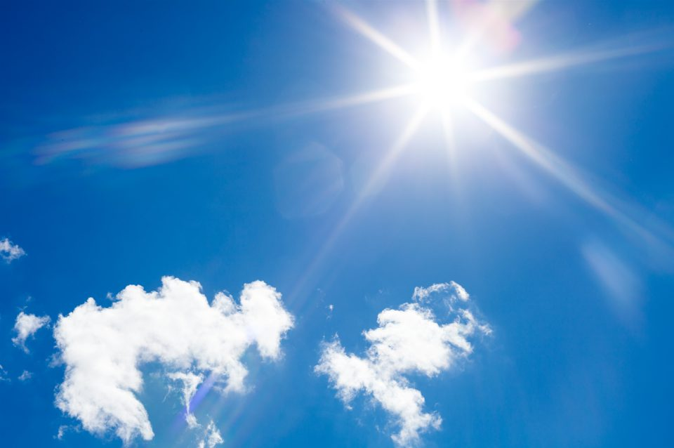 mogen fillers in de zon?